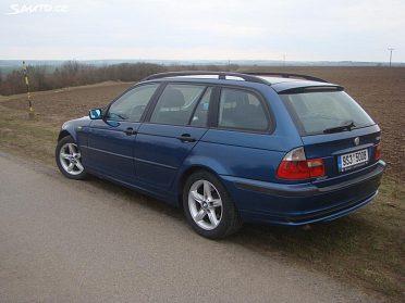 BMW 320d  110kW, Touring facelift - prodám