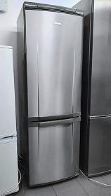 Lednice s mrazákem ELECTROLUX Space Plus, kombinovaná, nerez