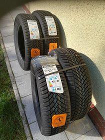 Prodám 4ks nových celoročních pneu Continental 205 /60 R16 xl 96H