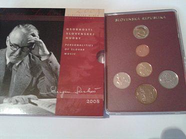 sada mincí SR 2008 Eugen Suchoň