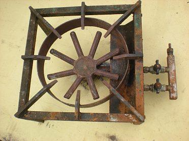 Plynový vařič pro velkokapacitní ohřev