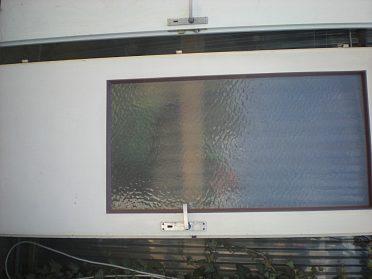 Dveře interiérové ze 2/3 prosklené 80 cm