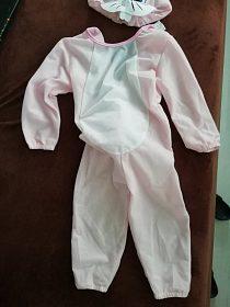 dětský kostým zajíčka 92-104