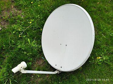 Satelitní anténa - parabola 80 cm s držákem