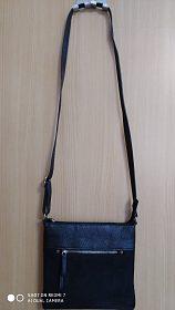 Černá crossbody kabelka