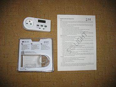 Elektroměr digitální SOLID DT22.