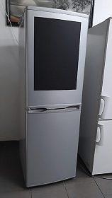 Lednice s mrazákem Exquisit, kombinovaná