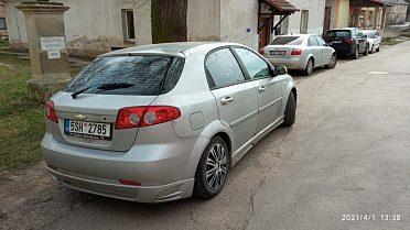 Chevrolet lacetti 1.8i 16V Sport 89kW 2008