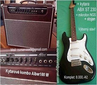 Prodám kytarový set