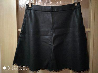 Koženková sukně VILA Fap