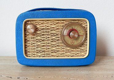 Doplněk k veteránům, plně funkční tranzistorové rádio z roku 1958