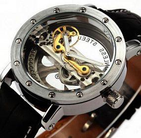 Levné kvalitní hodinky, mechanické automatické hodinky