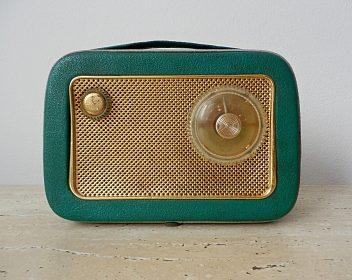 Doplněk k veteránům rádio T58, plně funkční, top stav