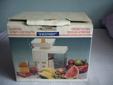 odšťavňovač Zelmer - Eta 0031