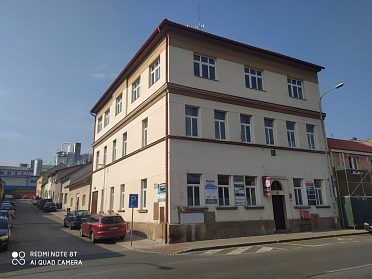 Pronájem kanceláře 10 m2 v Kuštově ulici v Rakovníku
