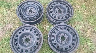 Plechove disky na Renaulta 4ks