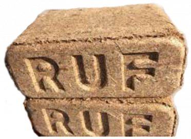 Brikety dřevěné RUF cena s DPH