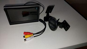"""LCD 5"""" monitor pro parkovací kameru"""