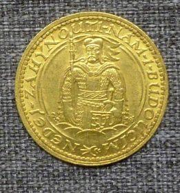 Svatováclavsky dukat r.r.1925 zlatý