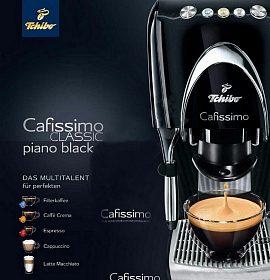 Elegantní kávovar Tchibo Cafissimo