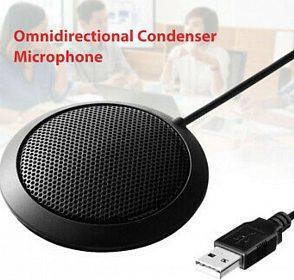 USB telekonferenční mikrofon – 360 st