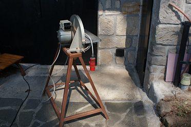 Brus na dřevo průměr 300 mm.