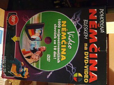 DVD angličtina a němčina