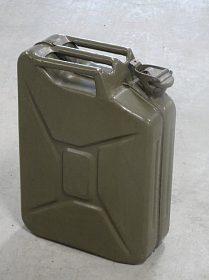Kvalitní ocelové  kanystry na pohonné hmoty.