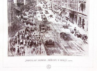 Časopisy Zlatá Praha, ročníky 1923 a 1928y;