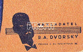 R. A. Dvorský – 3 x originální noty
