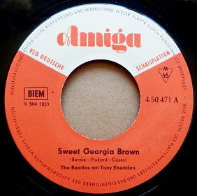 Gramodeska The Beatles a Tony Sheridan, singl, 45 rpm