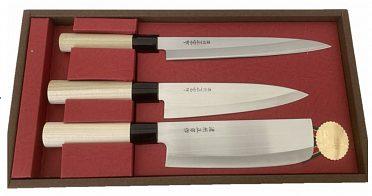 Sada japonských nožů Nakiri