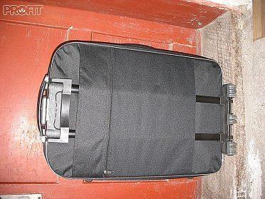 Kufr retro Kazeto a velký cestovní kufr.