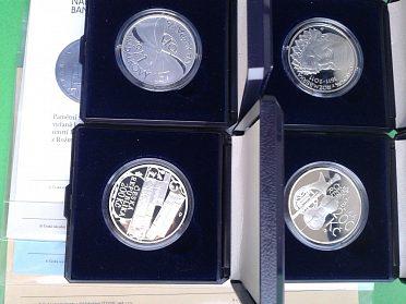 stříbrné mince 200 Kč rok 2011