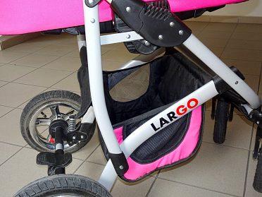 Kočárek Baby Lux Largo, dvojkombinace