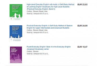 Everyday English - knihy s idiomy a užitečnými AJ výrazy