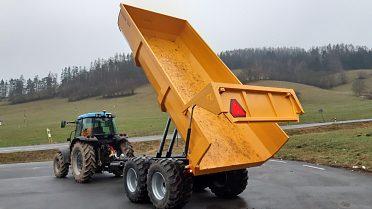 Návěs,Přívěs,Vlek za traktor,Vlečka,Dumper 10t,13t,16t