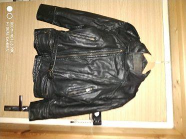 Dámská kožená bunda černá LOUIS, vel. L