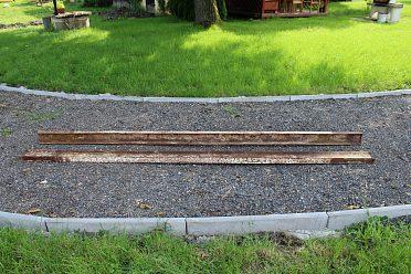 Železné traverzy I 120 délky 331cm