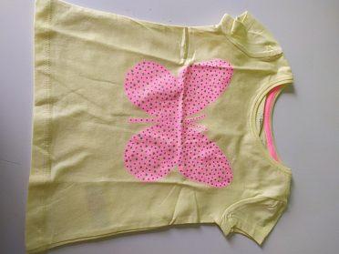 Tričko s motýlkem vel.92