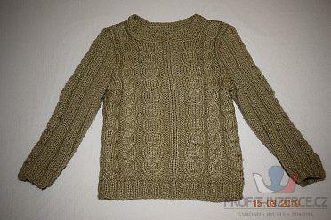 Balík zimn. oblečení na holku vel. 92-98