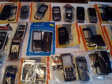 Kryty - Nokia, Sony, Siemens