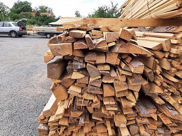 palivové dřevo za 233,-Kč/bm