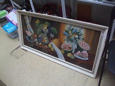 Malovaný obraz, cena 990,-kč