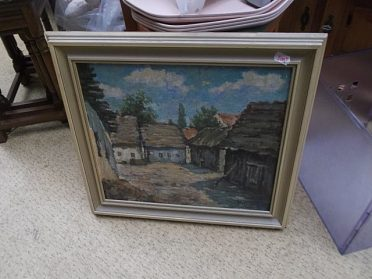 Malovaný obraz, cena 500,-kč
