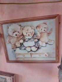 Dětský obrázek, cena 100,-kč