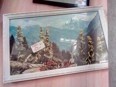 Obrázek krajina cena 30,-kč