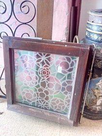 Malé okno, cena 500,-kč, dřevěný rám