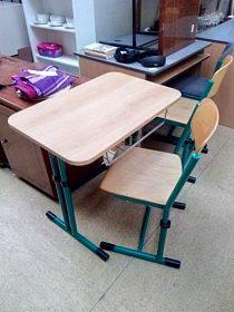 Lavice se židlí, cena za oba kusy 790,-kč