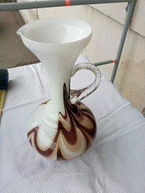 Váza barevné sklo, cena 500,-kč